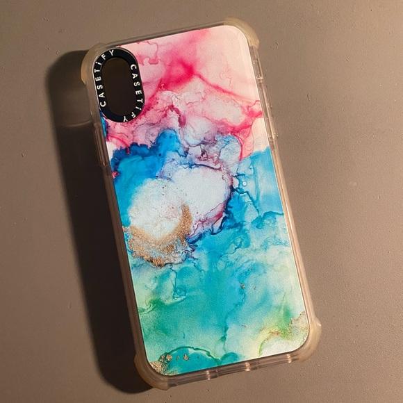 iPhone X Casetify Mermaid Watercolor Case